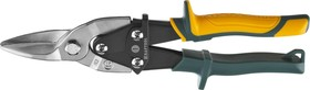 2328-S, KRAFTOOL Ножницы по металлу Alligator, прямые, Cr-Mo, 260 мм