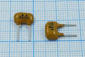 Керамические резонаторы 4МГц с двумя выводами; пкер 4000 \C09x5x07P2\\5000\ \ZTA4,00MG\2P