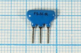 Пьезокерамический полосовой фильтр 5.5МГц, ширина полосы 120кГц ф 5500 \пол\120/3\SFSL\ 3P\LTS5,5MCB\\ (F5.5C)