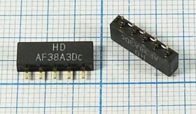 Фильтр на ПАВ 38МГц, телевизионный ф 38000 \пол\\SIP5D\5P\ HDAF38A3D\BG/DK/I\SDE
