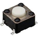 IT-1102W8-160G-G, кнопка тактовая 6х6 SMD h=4.3мм