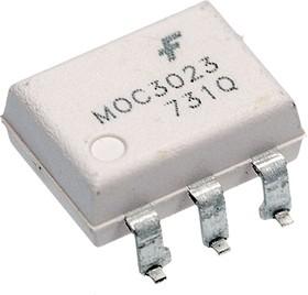 MOC3023SR2M, OPTOCOUPLER, TRIAC, 400V, 0.1A, DIP-6