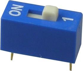 RS-01, DIP переключатель 1 поз.(аналог SWD 1-1 ВДМ 1-1)
