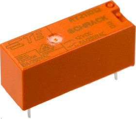 4-1393224-6 (RY211012), Реле электромеханическое; 4-1393224-6, 1-Form-C, SPDT, 1CO, 12 VDC/8A (OBSOLETE)