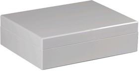 DABP233009G, Корпус для РЭА, 230х300х86мм, пластик ABS, серый