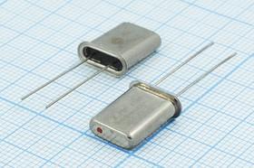 кварцевый резонатор 27.255МГц в корпусе HC43U=HC49U, 3-ья гармоника, нагрузка 32пФ, 27255 \HC43U\32\\\HC-49U\1Г (27.255 KDSI 7E)