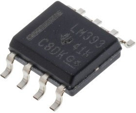 DUAL COMPARATOR,LM393D SO8 1.3USEC