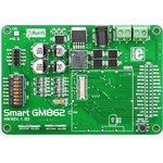 MIKROE-492, SmartGM862 Board, Отладочная плата для модуля ...