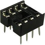 Фото 2/4 SCS- 8 (DS1009-8AN), DIP панель 8 контактов узкая