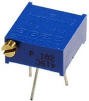 Фото 1/2 3296P-1-503LF, 50 кОм построечный резистор