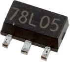 BCX56-16, [SOT-89-3], Биполярный транзистор, NPN, 80 В, 1.0 А, 1.3 Вт