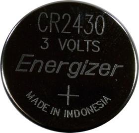 CR2430 ENRGIZER, батарейка Lithium CR2430 1шт 3V