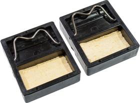 8PK-362S, миниподставка для паяльника с губкой