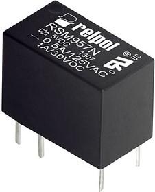 RSM957N-0111-85-S012, Реле 12VDC 1 Form C 125VAC/1А
