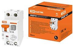 SQ0202-0001, АВДТ 63 C10, дифференциальный автомат 30мА