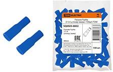 SQ0505-0002, РшИм 2-5-4 штекер (мама) синий на пр. 2.5 мм2