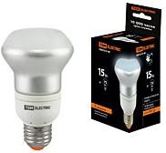 SQ0323-0148, КЛЛ- RM63 FR, энергосберегающая лампа 15Вт 4000К Е27