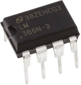 LM386N-3/NOPB, Audio power amplifier,LM3