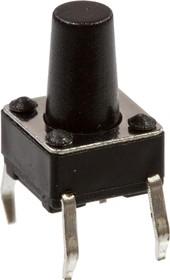 1169-669.0, Кнопка тактовая, 6ммх6мм, h=9.00мм