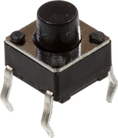 1163-666.0, Кнопка тактовая, 6ммх6мм, h=6.00мм
