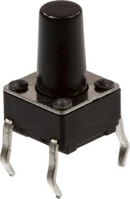1170-669.5, Кнопка тактовая, 6ммх6мм, h=9.50мм