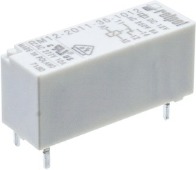 RM12-2011-35-1012, 12VDC, 8A/250VAC, 8A/24VDC, 10,1x12,5x28,5мм (аналог 43.41.7.012.0001, 10А, 30,2х