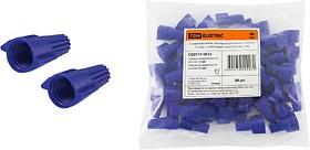 SQ0519-0012, Соединительный изолирующий зажим СИЗ-Л-2 12 мм2 с лепестками синий (50