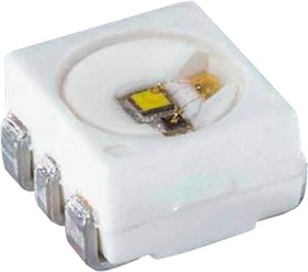LT G6SP-CBEB-25, Power TOPLED, PLCC-6, 3.3В, 0.5Вт, 528нм (зеленый)
