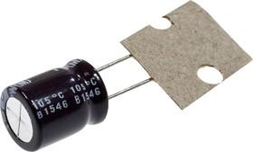 Фото 1/3 UPW1J101MPD1TD, 100мкФ 63В 105C 2000h 10х12.5 Low impedance конденсатор электролитический (К50-35)