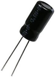 JTK106M100S1AME11L, (К50-35) 10мкФ 100В 105C 6x11 конденсатор электролитический алюминиевый (TKR100M