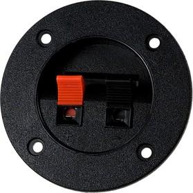 CH1-0408B, клеммник нажимной 2конт. круг. 75мм