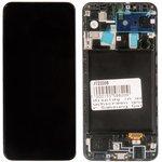 (A205F) дисплей в сборе с тачскрином и передней панелью (модуль) для Samsung ...