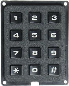 TF-0284B, 3x4/57x46 Тел.клавиатура