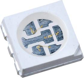 FM-T5050UGK-520D, светодиод SMD 5050 PLCC зеленый 110гр 520 нм 3600 мКд