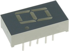 SA04-12SGWA, индикатор красный 10.16мм 1x7 6.8мКд