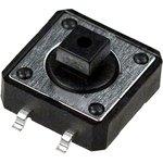 1273SHIM-160G-G, кнопка тактовая 12х12 SMD h=7.3мм