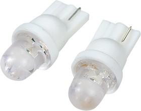 T10 1LED, светодиодная автомобильная лампа 12В T10, белая