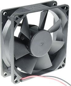 JF0825B1UR-R, вентилятор 12В 80х80х25мм подшипник качения