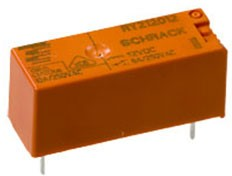 5-1393224-5, RY212012 реле 1-Form-C,SPDT,1CO 12VDC/8A