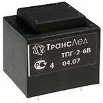 Фото 2/2 ТПК-2 (6В, 420мА) (ТПГ-2), Трансформатор герметичный (залитый), 6В, 420мА