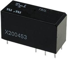 TRIL-12VDC-SD-1AH-R, Реле 1зам. 12V/12A,250VAC
