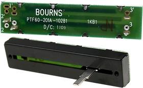 PTF60-201A-102B1, 1 кОм переменный резистор