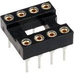 Фото 2/2 TRS- 8 (SCSM-8) (DS1001-01-8N), DIP панель 8-контактная цанговая узкая