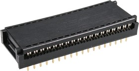 A14-36ASA1, DIP-36 разъем DIP на шлейф 36к.шир.