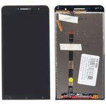 """(A600CG) дисплей в сборе с тачскрином для Asus Zenfone 6 (A600CG) черный (6.0"""")"""