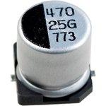CA025M0470REG-1010, ЧИП электролит.конденсатор 470мкф 25В 10x10.5