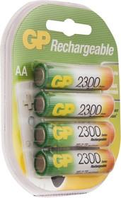 230AAHC(HR06/AA)4, Аккумулятор никель-металлгидридный NiMH 2300 mAh (4шт) 1.2В