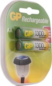 Фото 1/3 130AAHC(HR06/AA), Аккумулятор для радиотелефонов никель-металлгидридный NiMH 1300mAh (2шт) 1.2В