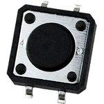 1243SHIM-160G-G, кнопка тактовая 12х12 SMD h=4.3мм