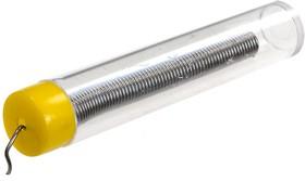 SOLD.WIRE, 1.0MM, 20G, 63%Sn припой-проволочный 1мм с канифолью 20г